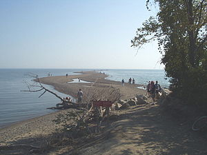 Point Pelee National Park - Image: Point Pelee looking south