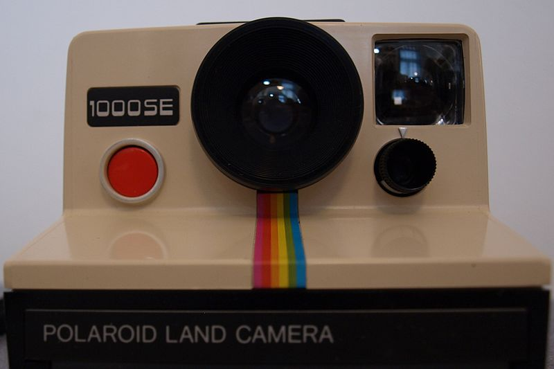 File:Polaroid Camera (like Instagram-Icon) (7243327202).jpg