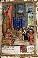 Policraticon de Jean de Salisbury - BSG Ms1145 f3r (Jean de Salisbury enseignant).jpeg