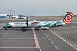 Polish Airlines (Podkarpackie travel livery), SP-EQE, Bombardier Dash 8Q400 (26217307486).jpg