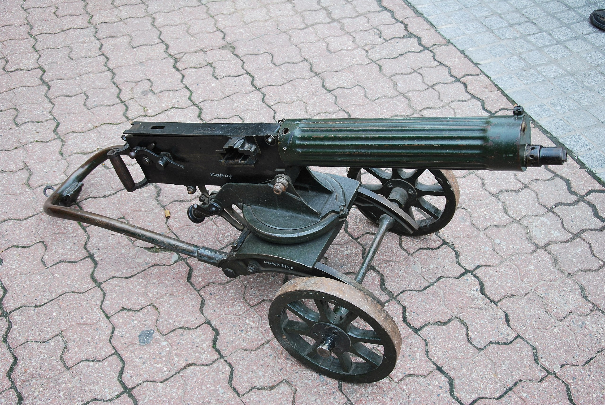The Maxim Gun's devastating firepower changed warfare forever