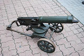 Maxim gun Heavy machine gun