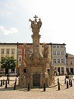 Pomnik Trojcy Swietej w Ladku Zdroju