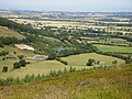 Ponds near Bank Lane seen from The Cleveland way - geograph.org.uk - 203285.jpg