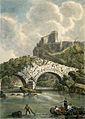 Pont Vieux Lourdes Marianne Colston 1821.jpg
