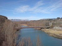 Pont de Fombeton — Du pont moderne.JPG