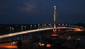 Cruzeiro do Sul, Acre - Image: Ponte da União, Cruzeiro do Sul, Acre