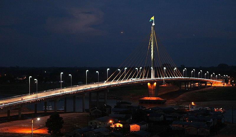 Ficheiro:Ponte da União, Cruzeiro do Sul, Acre.jpg