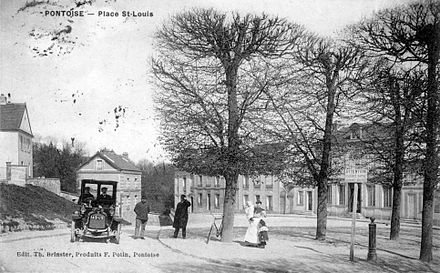 Pontoise. Place Saint-Louis. Carte postale ancienne - Pontoise