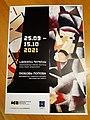 """Popova """"The avant-garde from Novinsky boulevard"""" (Exhibition Poster, Museum of Russian Art 2021, Yerevan).jpg"""