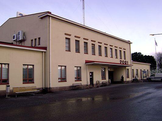Pori railway station