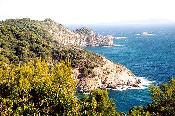 The Island of Porquerolles, Îles d'Hyères.