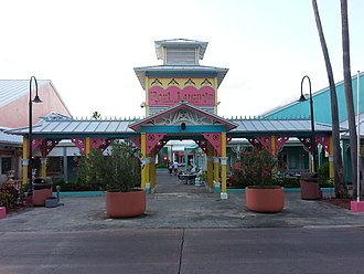 Lucaya, Bahamas - Image: Port Lucaya Marketplace Entrance