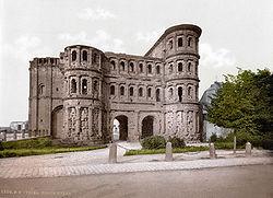 Porta Nigra in 1900