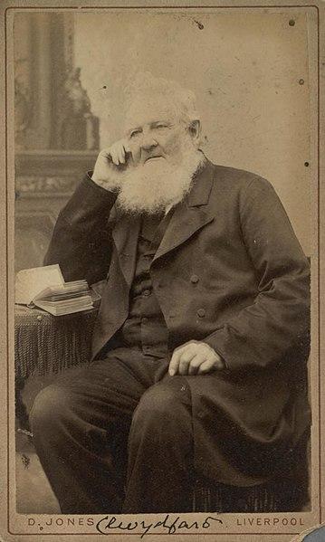 File:Portrait of Clwydfardd (4673093).jpg