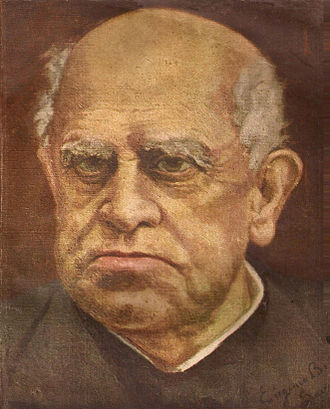 Domingo Faustino Sarmiento - Portrait of Sarmiento painted by his granddaughter Eugenia.