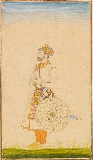 Army of the Mughal Empire - Portrait of a Mughal officer