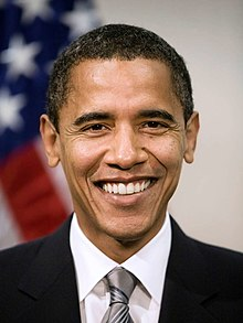 Photograph of Barack Obama