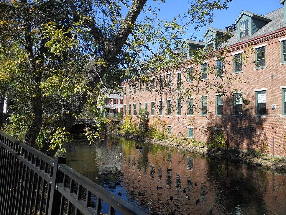 Pow-wow River downtown Amesbury Sept 2012 M
