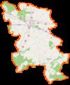 Powiat wrzesiński location map.png