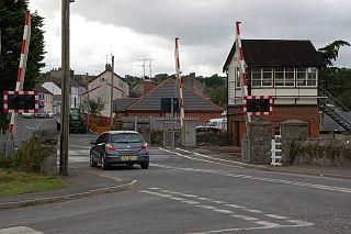 Poyntzpass village in the United Kingdom