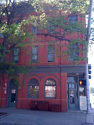 Little Bohemia (Omaha, Nebraska) - The Prague Hotel on South 13th Street in the heart of the Little Bohemia