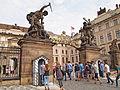 Prague - New Royal Palace gate.jpg
