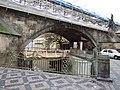 Praha, Malá Strana, Karlův most, rekonstrukce.JPG