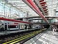 Praha, Střížkov, stanice metra Střížkov, nástupiště III.jpg