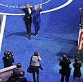President Barack Obama Hillary Clinton with photographers (27983953504).jpg