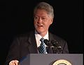President Clinton at a Dinner Honoring Rep. John Lewis (2000) 08.jpg