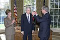 President George W. Bush presents Hal Holbrook with the National Humanities Medal.jpg