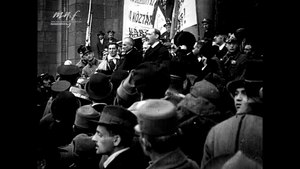 Fájl:President Mihaly Karolyi's speech after the proclamation of the First Hungarian Republic on 16 november, 1918.webm