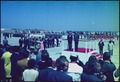 President Nixon's arrival, and welcome ceremony for President Ordaz of Mexico, at San Diego Naval Air Station - NARA - 194325.tif