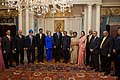 President Obama, Secretary Clinton, and the Indian Delegation Pose for a Photo (4693387967).jpg