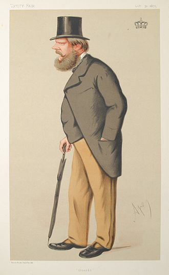 Prince Edward of Saxe-Weimar - Prince Edward of Saxe-Weimar as depicted in Vanity Fair