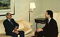 Prince Tomislav Karadjordjevic and Dejan Stojanovic, Chicago, 1993.jpg