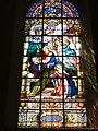 Prisches (Nord, Fr) Église Saint-Nicolas, un vitrail.jpg