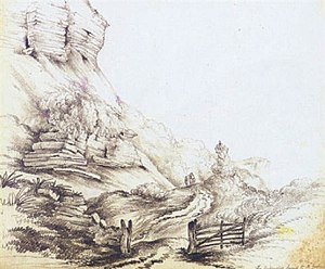 Priscilla Buxton - Phyllis Buxton's sketch on the Isle of Wight