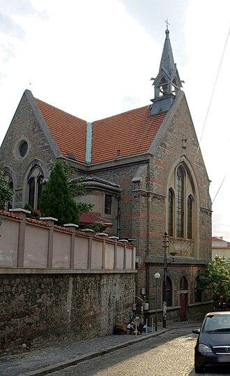 Protestantism in Bulgaria - Protestant church in Plovdiv