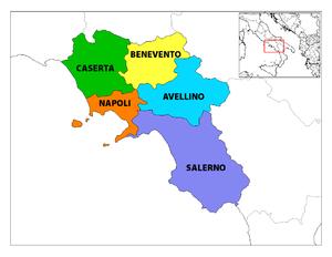 Le province campane