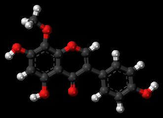 Psi-Tectorigenin - Image: Psi tectorigenin 3D balls