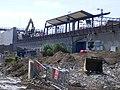 Pudding Mill Lane DLR station demolition - 14020538189.jpg