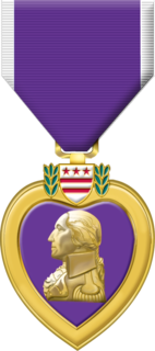 Purple Heart United States military decoration