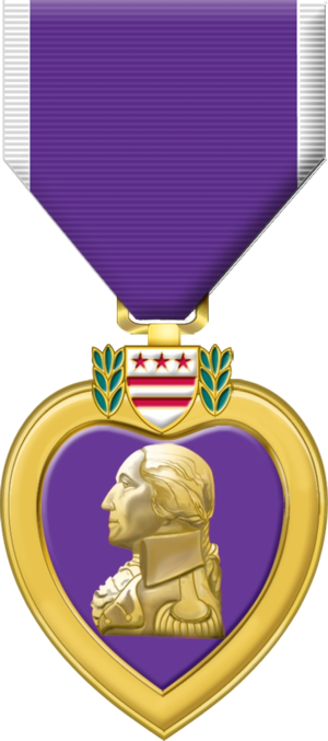 Purple Heart - Purple Heart Medal