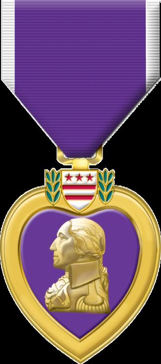 Purple Heart - Purple Heart Medal