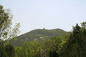 Thousand Buddha Mountain - Northern slope of the hill