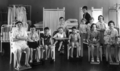 Queensland State Archives 3079 Child patients at Sister Kenny Clinic Brisbane November 1938.png