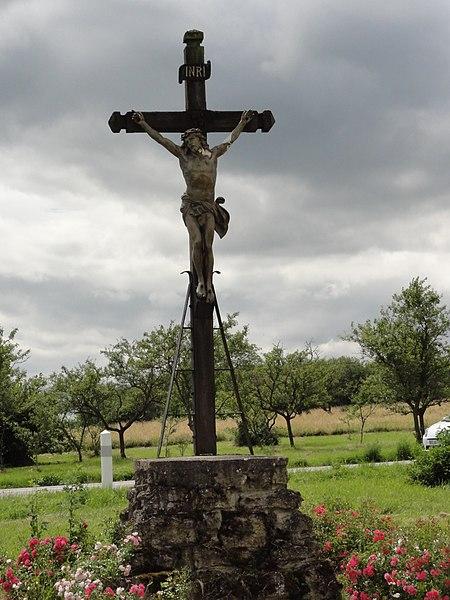 Réméréville (M-et-M) croix de chemin