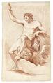Rödkriteteckning på naken man, 1760-tal - Skoklosters slott - 99338.tif